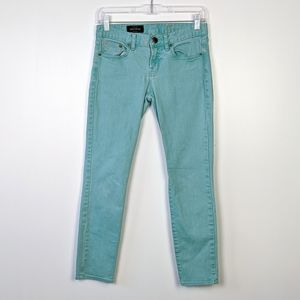 J. Crew Toothpick Yarn Dyed Ankle Jeans Size 27